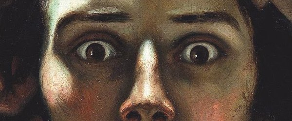 Comentar un cuadro: El Hombre desesperado – Gustave Courbet.