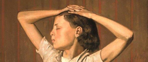 Comentar un cuadro: Thérèse soñando (Thérèse Dreaming) - Balthus.