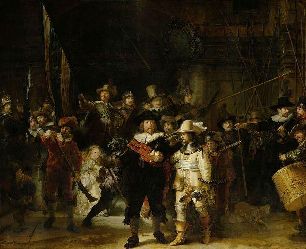 Rembrandt van Rijn - Ronda de noche, 1642.