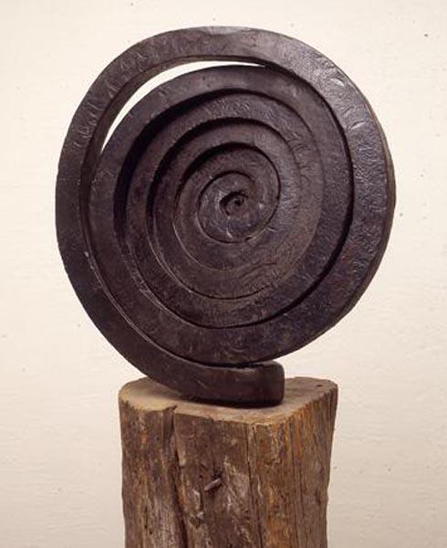 Martín Chirino – El Viento, Cuenca, 1963. Hierro forjado. 56 x 56 x 15 cm. Fundación Juan March. Museo de Arte Abstracto. Cuenca.