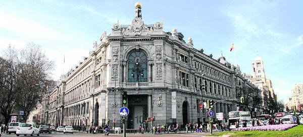 Banco de España, en Madrid en la calle Alcalá 48.