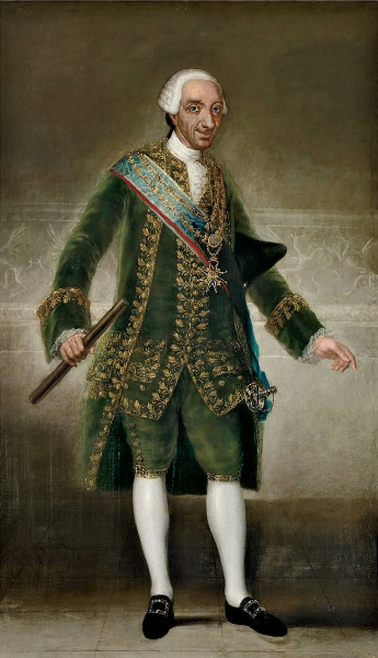 Francisco de Goya - Retrato de Carlos III, 1786 o 1787, Banco de España