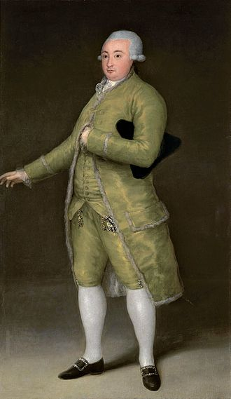 Francisco de Goya - Retrato de Francisco Cabarrús,1788, Banco de España.