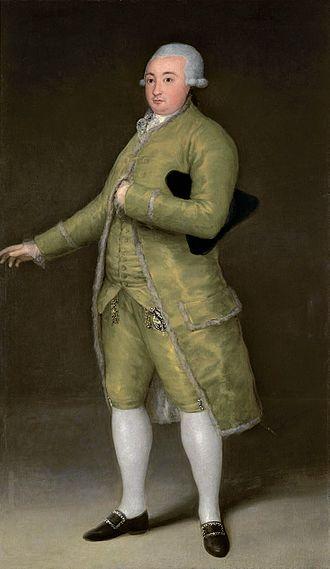Francisco de Goya - Retrato de Francisco Cabarrús,1788, Banco de España.