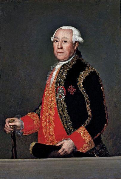 Francisco de Goya - Retrato de Miguel Fernández Duran, Marques de Tolosa, 1786 o 1787, Banco de España.
