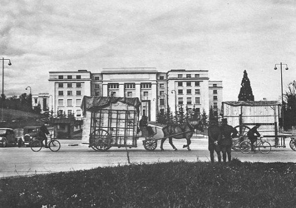 Museo del Prado - traslado de obras, 1936.