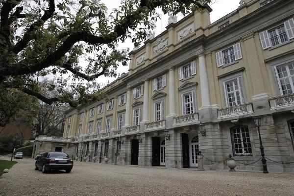 Fachada del Palacio de Liria. (Fotografías Luis Sevillano).