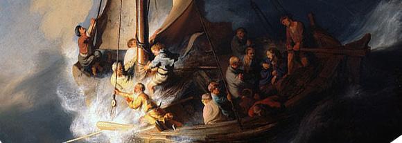 Comentar Un Cuadro Cristo En La Tormenta En El Mar De Galilea Rembrandt 1633 Tasararte Com